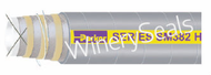 """3.0"""" Reinforced Gray EPDM Suction Hose"""