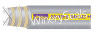 """4.0"""" Reinforced Gray EPDM Suction Hose"""