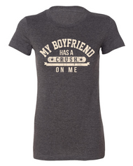 One of our very favorite tees!  Ladies fit so may need to order a larger size than you would normally wear in a regular tee!