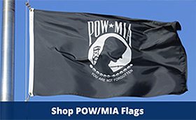 Veterans Flag Depot POW MIA Flags