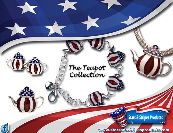 Tea Pot jewelry for your next Tea Party!
