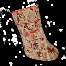 US MARINES Christmas Stocking