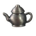 Pewter Teapot Lapel Pin