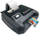 The Afinia L301 color label printer uses a pigment black ink to print black text and graphics.