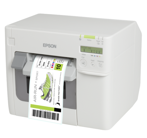 The Epson TM C3500 Produces High Quality Labels For A Variety Of Applications