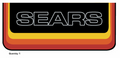 SEARS GT Hood Decal