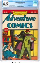 Adventure Comics #44 (1939) CGC 6.5 F+