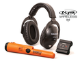 Garrett Z-Lynk MS-3 Wireless Headphone Kit with Z-Lynk Pro-Pointer AT