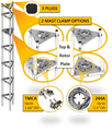 Wade Model GN Tower Top Kit 244A