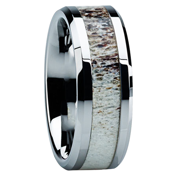 Outdoor Camo Rings: Mens Camo Wedding Bands - Titanium-Buzz