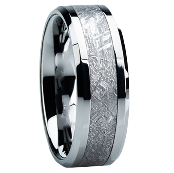 why meteorite wedding bands mens wedding bands - Wedding Rings Mens