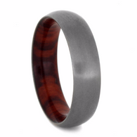 6 mm Titanium Ironwood Sleeve and Matte Finish - T184M