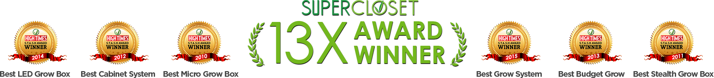 Supercloset awards