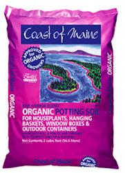 Coast of Main Bar Harbor Blend Premium Potting Soil (2 cubic foot bags) in Bulk (COMBHPPS2) UPC 609853000467