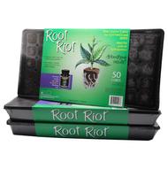 Root Riot 50 Cube Trays in Bulk (714130) UPC 20659627011032