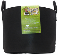 25 Gallon Smart Pot with handles black in Bulk (724741) UPC 80674344140256
