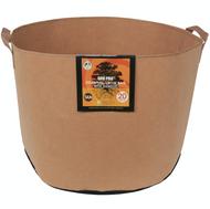 Gro Pro Essential Round Fabric Pot with Handles (20 Gallon) Tan in Bulk (725105) UPC 20849969022364