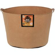 Gro Pro Essential Round Fabric Pot with handles (30 Gallon) Tan in Bulk (725107) UPC 20849969022371