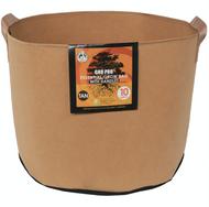 Gro Pro Essential Round Fabric Pot with handles (10 Gallon) Tan in Bulk (725101) UPC 20849969022340