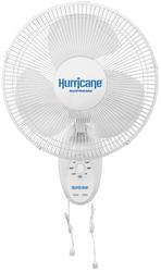 Hurricane Supreme Oscillating Wall Mount Fans (12 inch) in Bulk (736500) UPC 849969018776