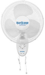 Hurricane Supreme Oscillating Wall Mount Fan (12 inch) in Bulk (736500) UPC 849969018776