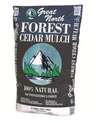 Ameriscape Northern Cedar Mulch Natural (2 cubic foot bags) in Bulk (AMSNCM2) UPC 096821555539
