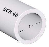 "PVC Pipe Sch. 40 (1"" X 20 feet) in Bulk"