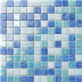Altoglass Cascade Blue square glass tile