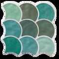 Porcelain Tile. Scale Series Garden