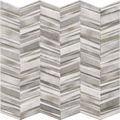 Porcelain Tile Chevron Series. Grey