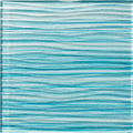 "Alttoglass Barbados Caribbean Blue 6""x6"""