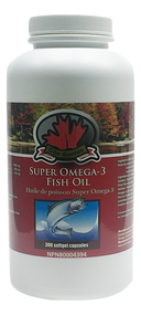 Can Garden Super Omega-3 Fish Oil 300Capsules(加拿大Can Garden Omega-3深海鱼油 300粒入)