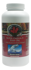 Can Garden Super Omega-3 Fish Oil 300Capsules(加拿大Can Garden Omega-3深海鱼油 300粒入)