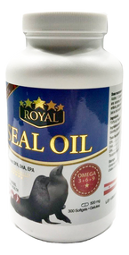 ROYAL Seal Oil OMEGA-3+6+9  300 Softgels(加拿大ROYAL皇家礼海豹油 OMEGA-3+6+9  300粒入)
