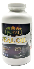 ROYAL Seal Oil OMEGA-3+6+9  500 Softgels(加拿大ROYAL皇家礼海豹油 OMEGA-3+6+9  500粒入)