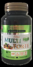 Codeco Multi Forte Premium 30 Vitamins & Minerals 60 Tablets(加拿大 Codeco 高端多维素片 60粒入)