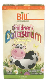 Bill Natural Sources Children's Colostrum 90 chewable tablets(Bill Natural Sources 兒童牛初乳 90咀嚼片)