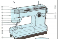 Globe Cub 6 7 Sewing machine instruction manual 1
