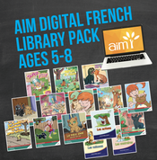 AIM Digital Readers (French) Library Pack for Ages 5-8