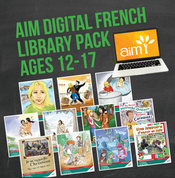 AIM Digital Readers (French) Library Pack for Ages 12-17