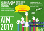 4th Annual Asian AIM Conference 2019 (6-7 September)
