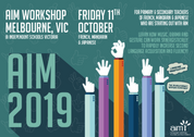 AIM Workshop - Melbourne (French, Mandarin, Japanese) 11/10/2019