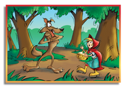 (Step 6) Chaperon Rouge et le loup fou: Kit (Upper primary/Lower secondary)