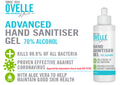 Ovelle Hand Sanitiser Gel Pump Bottle 500ml
