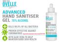 Ovelle Hand Sanitiser Gel Pump Bottle 500ml