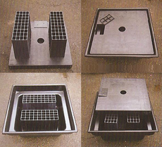 Fountain Basin Water Reservior, 4'