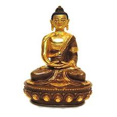 "Amitabha Buddha Statue, 8"" 1"