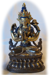 """Avalokiteshvara Statue, 8"""""""