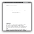 IT 659 Information Technology Risk Analysis and Cyber Security Policy Assignment, part 2 (SNHU)