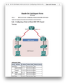 NETW 209 Week 2 HOA Lab 3.4.2.6 - Configuring a Point-to-Point GRE VPN Tunnel (Devry)